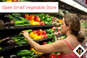Open Small Vegetable Store