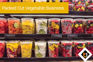 Packed Cut Vegetable Business