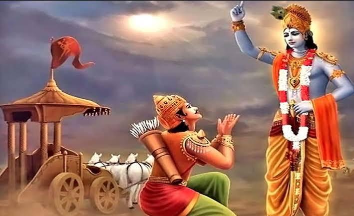 Bhagavad-Gita-krishna-as-teacher