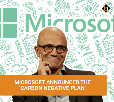 Microsoft Announced The Carbon Negative Plan