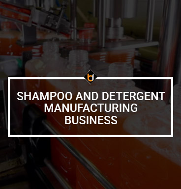 Shampoo And Detergent Manufacturing Business