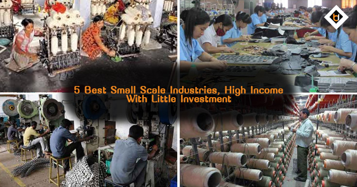 5 Best Small Scale Industries, High Income With Little Investment