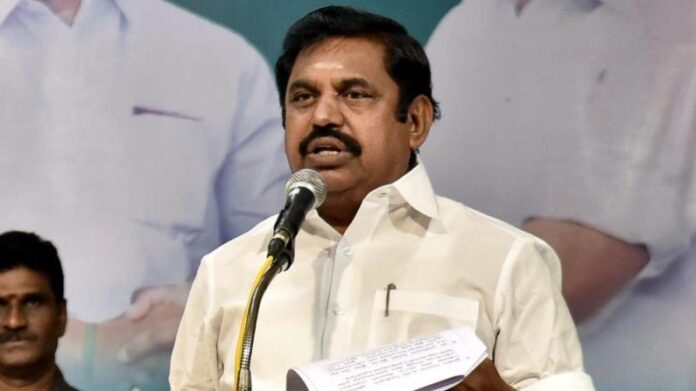 Tamil Nadu Assembly Election 2021: CM Palaniswami, crying over the comment of A Raja, said- God will punish