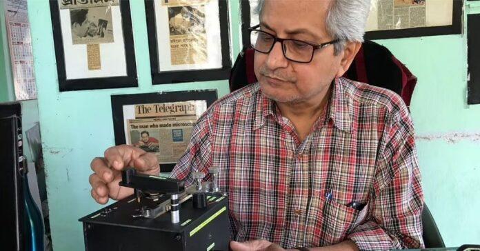 भारतीय वैज्ञानिक ने किया असंभव को संभव, दो हफ़्तों में बनाया 'पॉकेट साइज़ माइक्रोस्कोप'