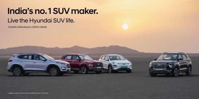 Hyundai records landmark achievement of over 1 Million 'Made in India' SUVs